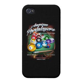 APA Pool Rack iPhone 4/4S Cases