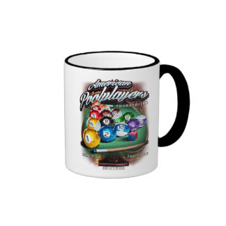 APA Pool Rack Coffee Mugs