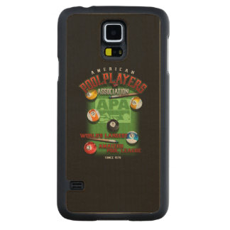 APA Since 1979 Carved Maple Galaxy S5 Case