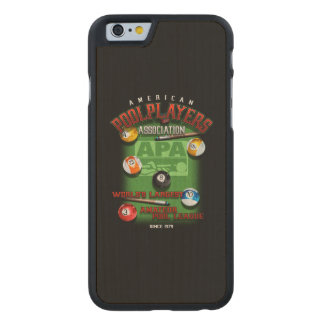 APA Since 1979 Carved Maple iPhone 6 Case