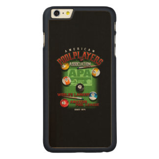 APA Since 1979 Carved Maple iPhone 6 Plus Case