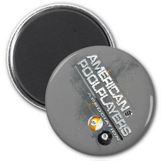 APA Slanted Design 6 Cm Round Magnet
