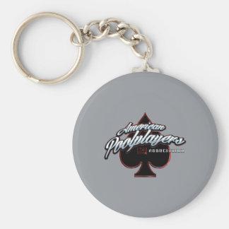 APA Spade Basic Round Button Key Ring