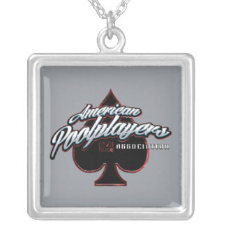 APA Spade Silver Plated Necklace