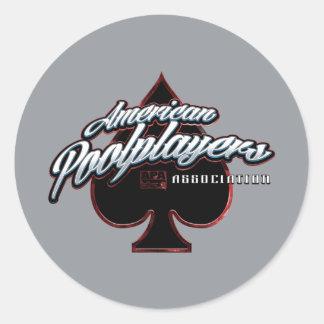 APA Spade Sticker
