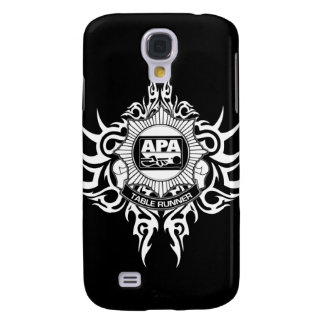 APA Table Runner Black and White Galaxy S4 Case