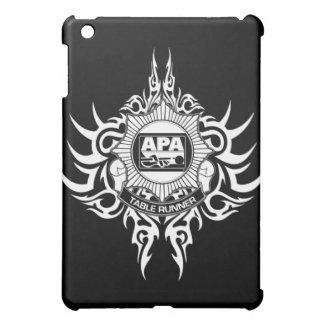 APA Table Runner Black and White iPad Mini Cover