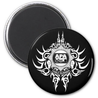 APA Table Runner Black and White Magnet