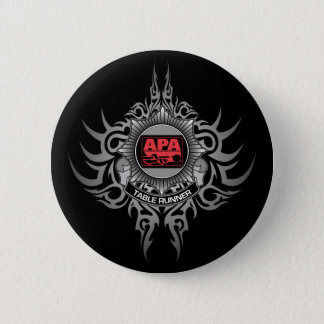 APA Table Runner Red 6 Cm Round Badge
