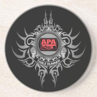 APA Table Runner Red Coaster
