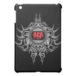 APA Table Runner Red iPad Mini Cover
