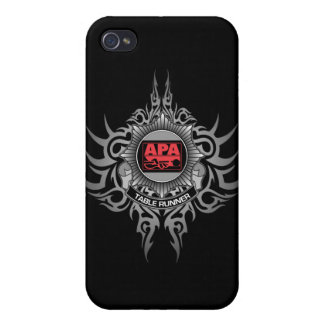 APA Table Runner Red iPhone 4 Case
