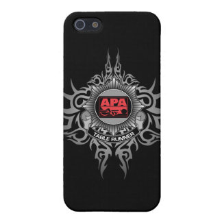 APA Table Runner Red iPhone 5/5S Cases