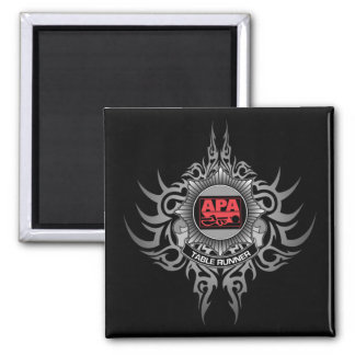APA Table Runner Red Magnet