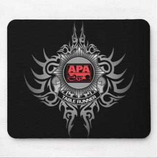 APA Table Runner Red Mouse Mat
