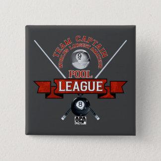 APA Team Captain 15 Cm Square Badge