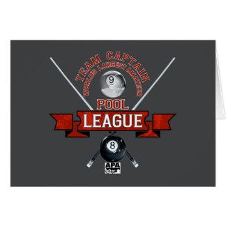 APA Team Captain Card