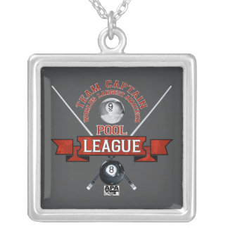 APA Team Captain Silver Plated Necklace