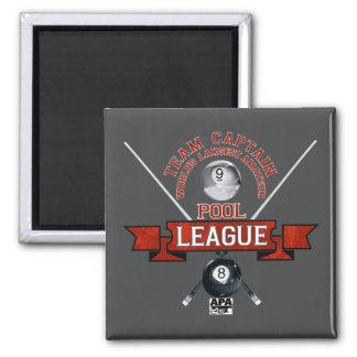 APA Team Captain Square Magnet