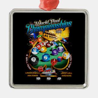 APA World Pool Championships 2017 Christmas Ornament