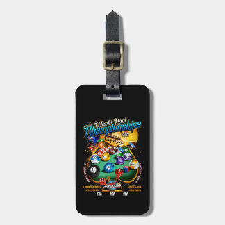 APA World Pool Championships 2017 Luggage Tag