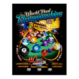 APA World Pool Championships 2017 Postcard
