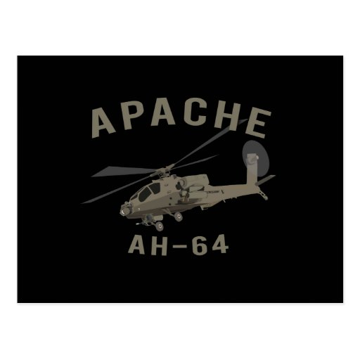 Apache AH-64 Post Cards