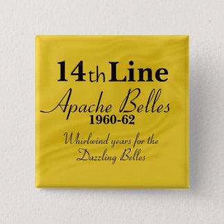 Apache Belles 14th Line 15 Cm Square Badge