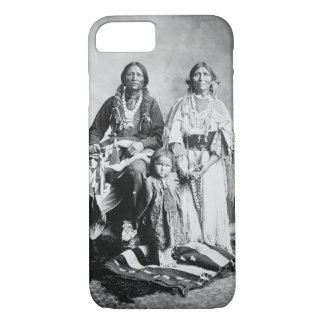 Apache Chief Antonio Maria with his family, 1897 ( iPhone 8/7 Case