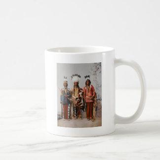 Apache Chiefs Garfield Ouche Te Foya 1899 Coffee Mug