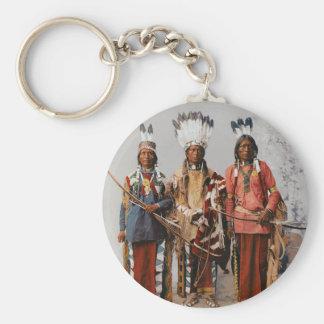 Apache Chiefs Garfield Ouche Te Foya 1899 Key Ring