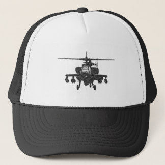Apache Helicopter Trucker Hat