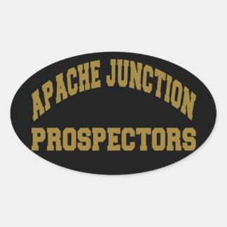 Apache Junction Prospectors Oval Sticker
