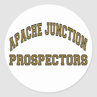 Apache Junction Prospectors Round Sticker