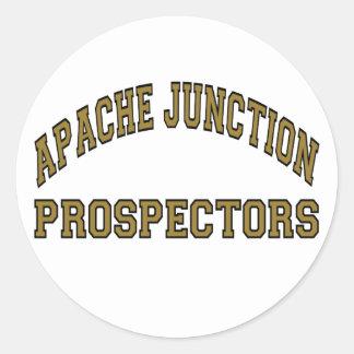 Apache Junction Prospectors Round Sticker