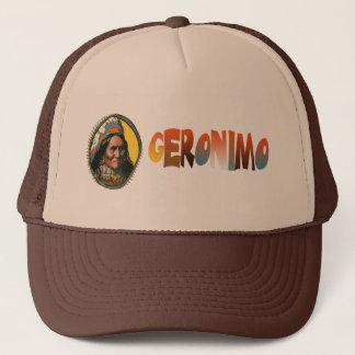 Apache leader Geronimo Trucker Hat