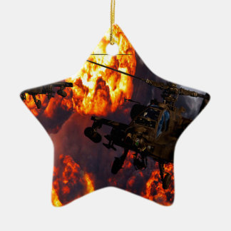 Apache Storm Fire Christmas Ornament