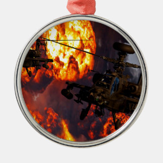 Apache Storm Fire Christmas Ornament