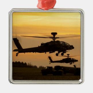 Apache sunset christmas ornament