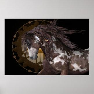 Apache .. the stallion print