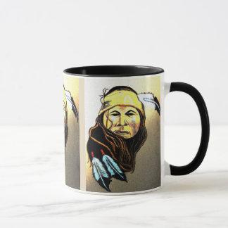 Apache Warrior Mug