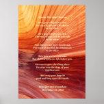 Apache Wedding Blessing Canyon Photo 20x28 Matte Poster