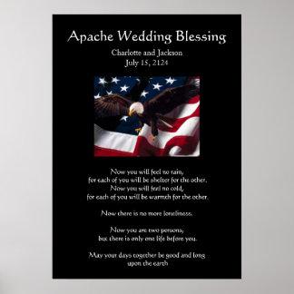 Apache Wedding Blessing Eagle 2 Print