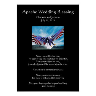 Apache Wedding Blessing Eagle 3 Posters