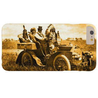 APACHES AND GERONIMO DRIVING A MOTOR CAR BARELY THERE iPhone 6 PLUS CASE