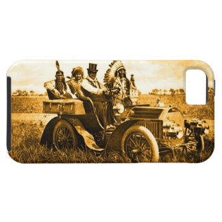 APACHES AND GERONIMO DRIVING A MOTOR CAR iPhone 5 COVER