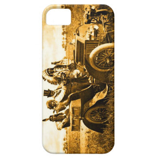 APACHES AND GERONIMO DRIVING A MOTOR CAR iPhone 5 CASE