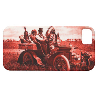 APACHES AND GERONIMO DRIVING A MOTOR CAR CASE FOR THE iPhone 5