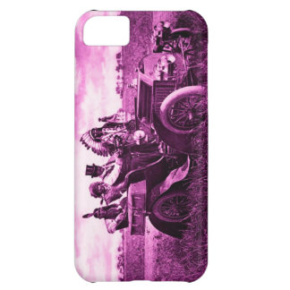 APACHES AND GERONIMO DRIVING A MOTOR CAR iPhone 5C CASE