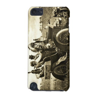 APACHES AND GERONIMO DRIVING A MOTOR CAR iPod TOUCH 5G COVERS